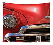 Close Up Of A Red Chevrolet Tapestry