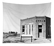 Closed Bank, 1936 Tapestry