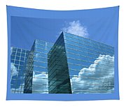 Cloud Mirror Tapestry