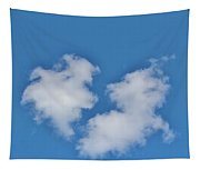 Cloud Shapes Tapestry