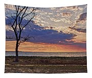 Clouding Up On Oyster Bay Tapestry