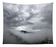 Clouds And Mountain Tapestry