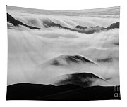 Maui Hawaii Haleakala National Park Clouds In Haleakala Crater II Tapestry