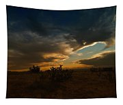 Clouds In New Mexico Tapestry