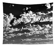 Clouds Of Freycinet Bw Tapestry