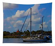 Clouds On The Water Tapestry