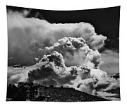 Clouds Over Santa Fe Tapestry