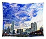 Clouds Van Gogh Tapestry
