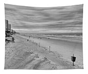 Cloudy Beach Morning Tapestry