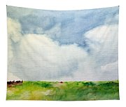 Cloudy Summerday Tapestry