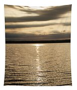 Cloudy Sunrise Tapestry