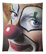 Clown Mural Tapestry