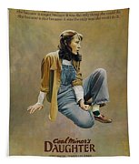 Coal Miner's Daughter  Tapestry