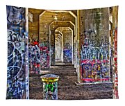 Coal Piers Tapestry