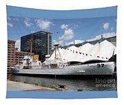 Coast Guard 37 - Baltimore Harbor Tapestry