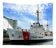 Coast Guard Cutter Taney Tapestry