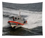 Coast Guard In Action Tapestry