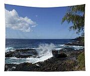 Coast Of Kauai Tapestry