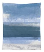 Coastal- Abstract Landscape Painting Tapestry