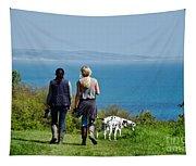 Coastal Path Walk Tapestry