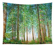 Coastal Redwoods Tapestry