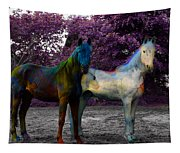 Coats Of Many Colors Tapestry