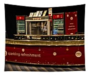 Coca Cola Refreshment Stand Tapestry
