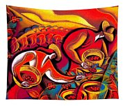 Coffee Crops Tapestry