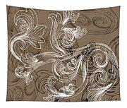 Coffee Flowers 2 Tapestry
