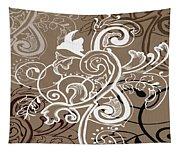Coffee Flowers 5 Tapestry