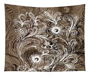 Coffee Flowers 6  Tapestry