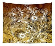 Coffee Flowers 6 Calypso Tapestry