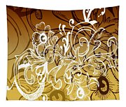 Coffee Flowers 7 Calypso Tapestry