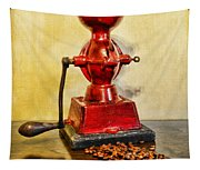 Coffee The Morning Grind Tapestry