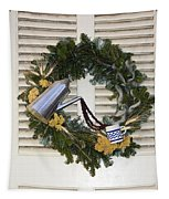 Coffee Wreath Tapestry