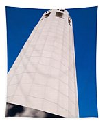 Coit Tower San Francisco Tapestry