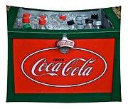 Coke Cooler Tapestry