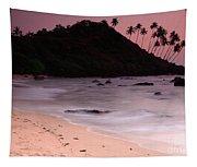 Cola Beach Sunset Tapestry