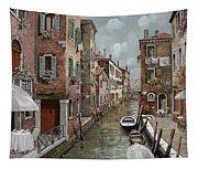 colazione a Venezia Tapestry