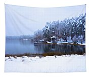 Cold Feet - A Winter Landscape Tapestry