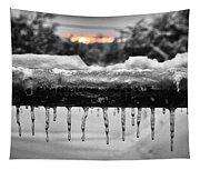 Cold Morning Light Tapestry