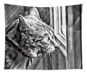 Cole Kitty Watchful Tapestry