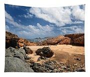 Collapsed Natural Bridge Aruba Tapestry