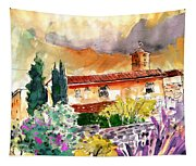 Colle D Val D Elsa In Italy 03 Tapestry