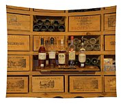 Collection Of Wines And Armagnac Tapestry