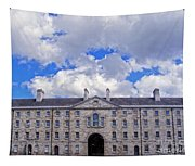 Collins Barracks In Dublin Tapestry