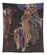 Colloquy Of Monos And Una Tapestry