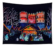 cologne Xmas Market Tapestry