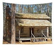 Colonial Cabin Tapestry
