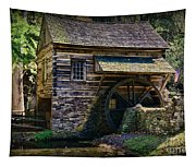 Colonial Grist Mill Tapestry
